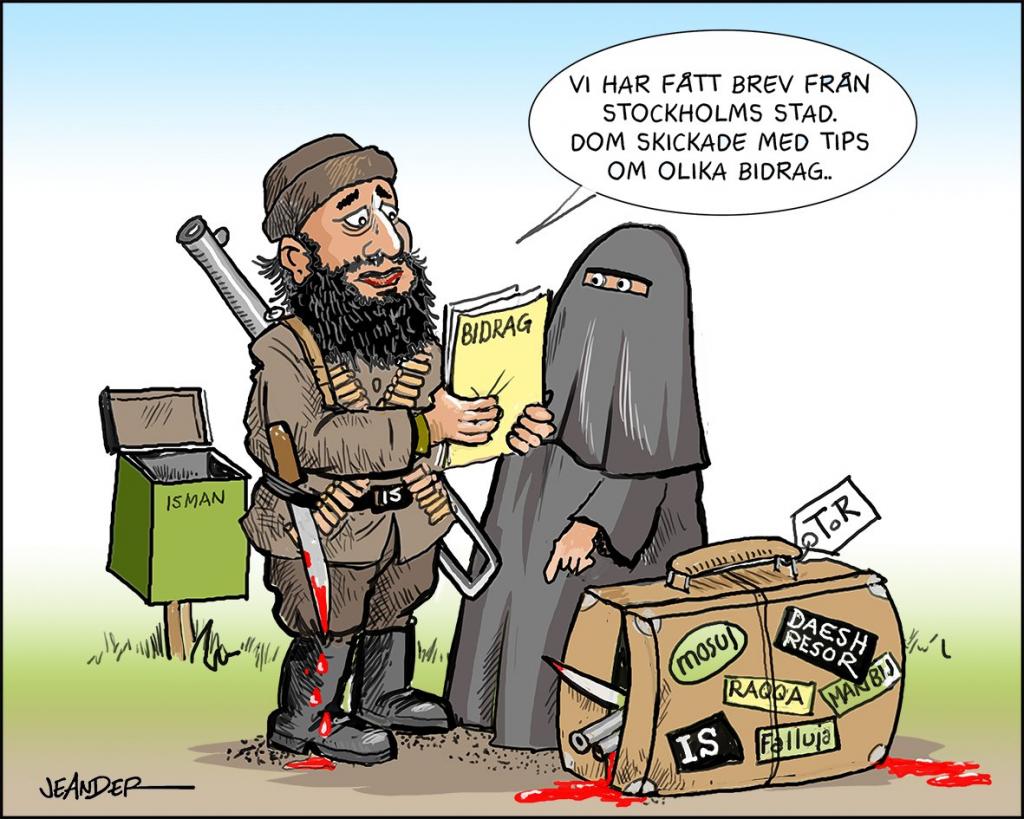 återvändande jihadister stockholm