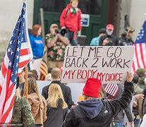 Bildresultat för corona protest