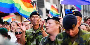 Bildspel: Se bilderna från årets Pridetåg i Stockholm