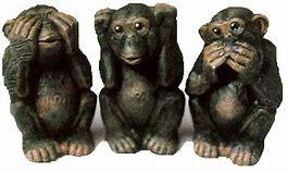 Bildresultat för de tre små aporna